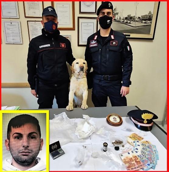 "Mascali, a casa una ""mini rivendita"" di droghe: arrestato"