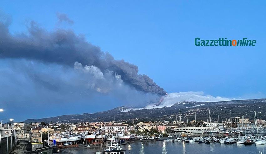 Nuova attività stromboliana dell'Etna