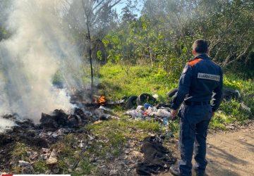 Mascali, Guardia costiera sequestra discarica in un'area esterna del depuratore VIDEO
