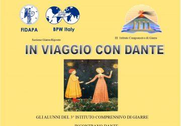 """Giarre, il III Istituto comprensivo… """"In viaggio con Dante""""!"""