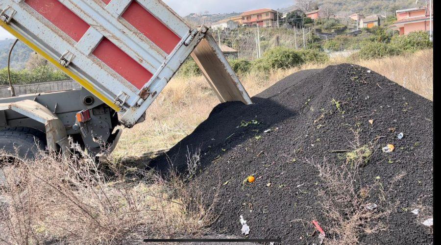 Giarre, emergenza cenere vulcanica: venerdi confronto dei sindaci per trovare una soluzione congiunta