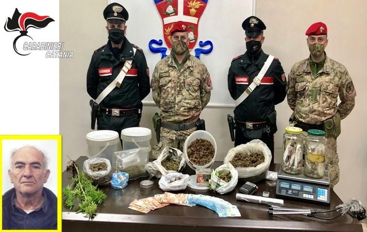 Paternò, insospettabile impiegato riforniva di marijuana i clienti: arrestato