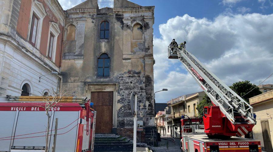 Giarre, sopralluogo chiesa del Convento, il Vescovo di Acireale invia una precisazione