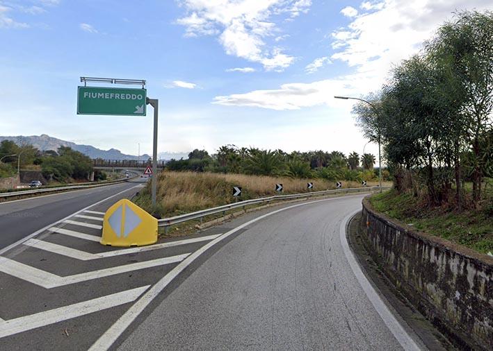 Lavori sulla A18, dal 20 al 24 aprile chiuso lo svincolo in uscita di Fiumefreddo in direzione Catania