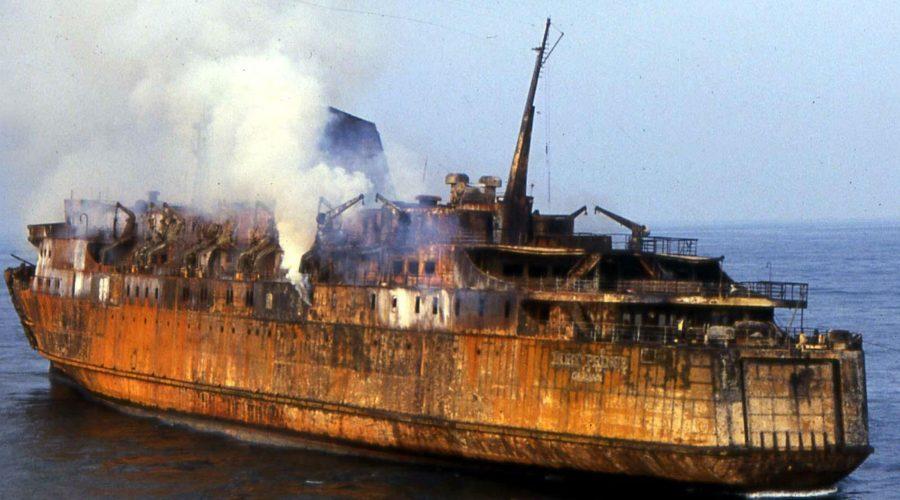 Moby Prince, strage del mare con due cittadini ripostesi tra i 140 morti: cerimonia trentennale