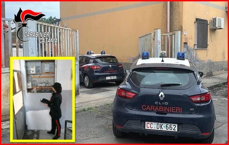 Intero caseggiato fruiva di energia elettrica a costo zero: 11 persone denunciate a Catania
