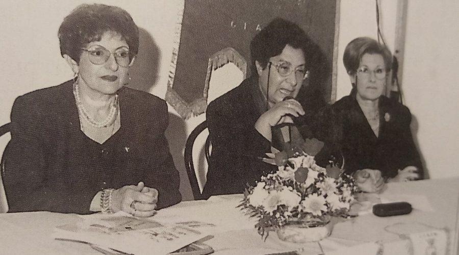 La Fidapa Giarre-Riposto ricorda la prof.ssa Agatina Comes Barbagallo, Presidente nel biennio 1998-2000