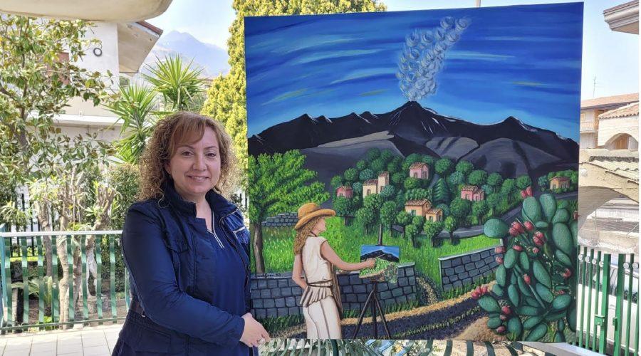 """L'arte ai tempi del Covid: la mostra """"virtuale"""" di pittura di Graziella Torrisi"""