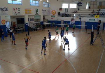 Volley serie B maschile, crollo del Papiro nell'andata dei playoff