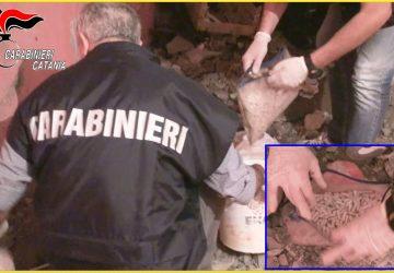 Catania, Operazione Carthago: preso in casa di un parente trafficante di droga del clan Nizza