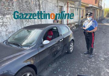 Mascali, colpi di fucile contro un'auto VD