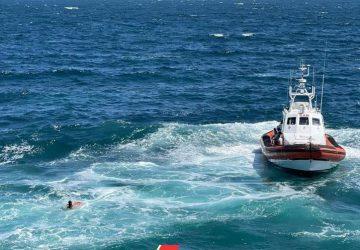 Catania, recuperato il cadavere di un uomo nel mare in tempesta