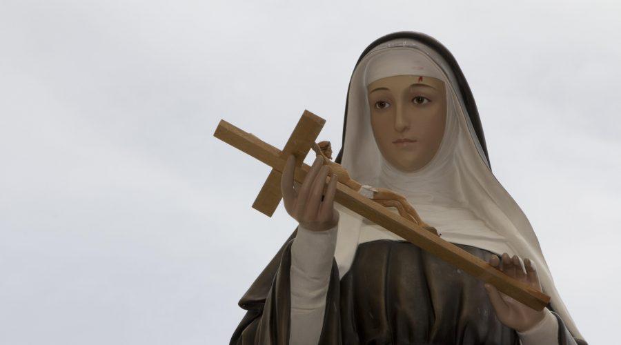 Il 22 maggio si festeggia Santa Rita da Cascia. Un video con la poesia del poeta Rosario La Greca