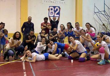 Volley femminile, storica promozione in B2 per lo Zafferana