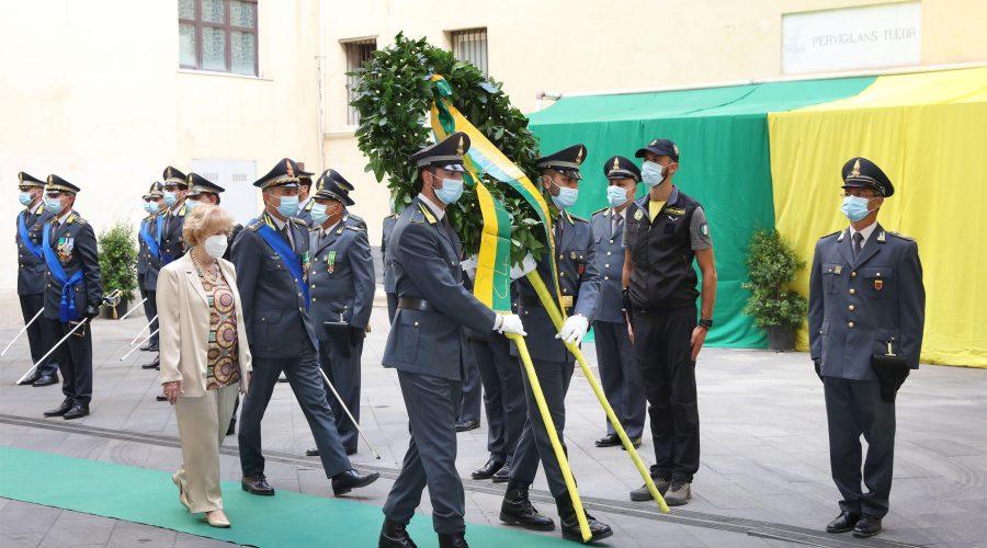 Le Fiamme gialle etnee celebrano il 247° anniversario della fondazione del corpo