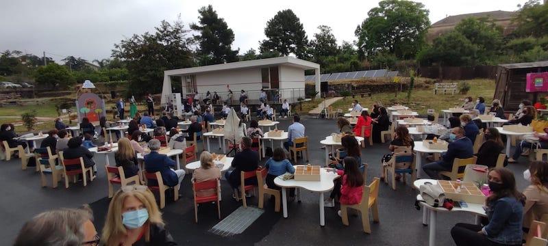 Santa Venerina, inaugurati l'Aula polifunzionale ed il Giardino dei racconti all'Istituto Comprensivo Statale