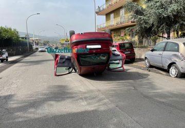 Giarre, incidente in corso Messina: due feriti VIDEO