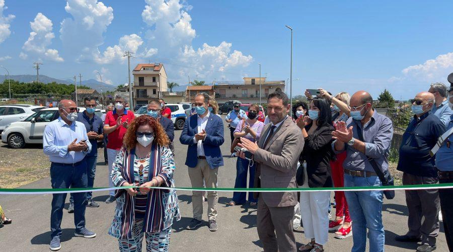 Mascali, inaugurato il Centro comunale raccolta rifiuti