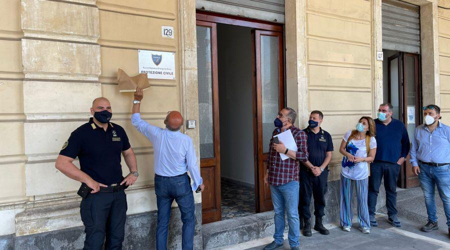 Riposto, il sindaco Caragliano inaugura sede del Noes