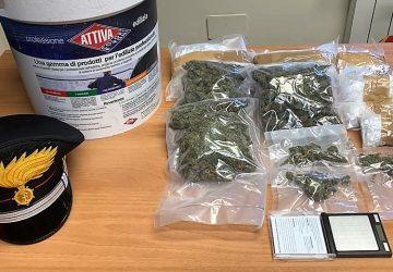 700 grammi di marijuana in mansarda: arrestato 30enne