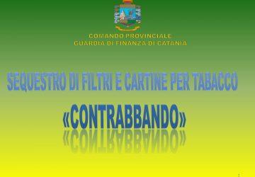 Catania, oltre 2 milioni di cartine e filtri per sigarette venduti senza autorizzazione