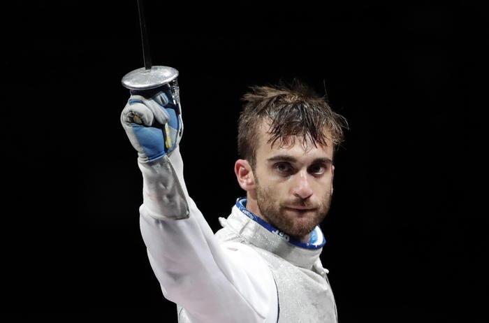 Olimpiadi: l'acese Daniele Garozzo medaglia d'argento nel fioretto individuale