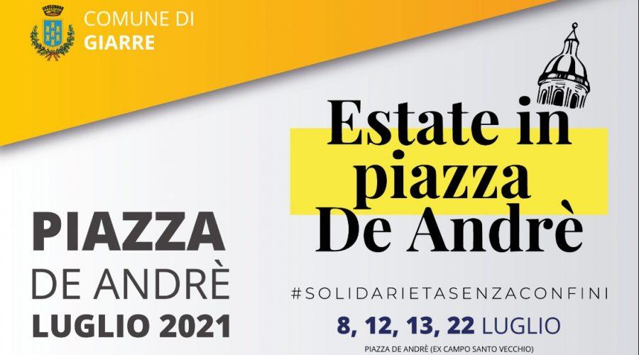 Giarre, Estate in piazza De André, seconda edizione