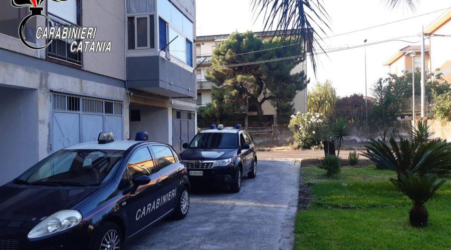 Serrati controlli dei Carabinieri a Giarre, Riposto e Mascali