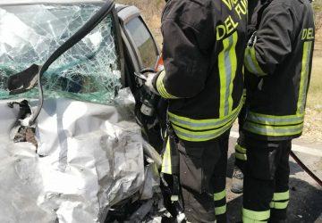 Ramacca, incidente mortale lungo la Statale 288. Intervento dei Vvff