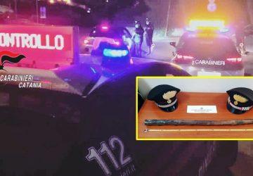 Paternò e Biancavilla, posti di controllo dei carabinieri: 3 denunciati