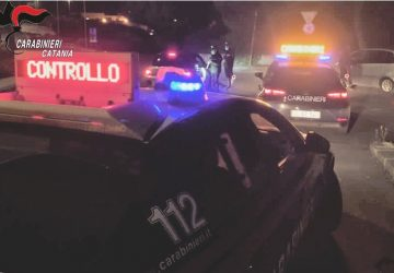 """""""Movida sicura"""", controlli dei carabinieri a Paternò: 2 denunce"""