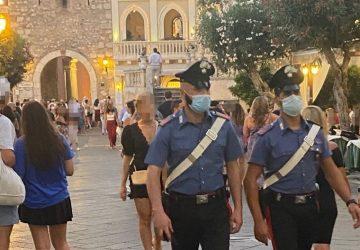 Taormina, controlli a tappeto dei carabinieri