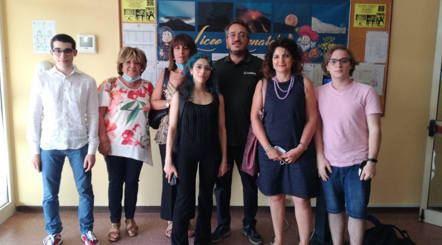 Al Liceo Leonardo di Giarre, il premio Antonio & Carla Tomarchio per far amare la matematica
