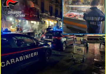 """Catania, controlli a tappeto allo """"street food"""" del centro storico: sanzioni e sequestri"""