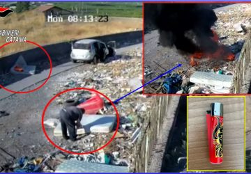 Paternò, piromane in azione arrestato dai carabinieri: è un pastore pluripregiudicato