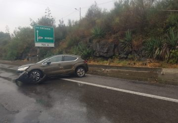 A18, incidente autonomo tra Giarre e Acireale