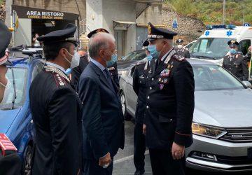 Sparatoria S.Maria Ammalati, comandante generale Cc, Luzi visita il brigadiere ferito