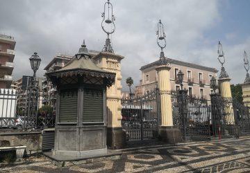 Acireale, villa Belvedere: il chiosco all'ingresso rientra nel possesso del Comune