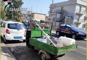 Controlli nell'Acese sulla regolarità del trasporto su strada dei rifiuti: 6 denunciati