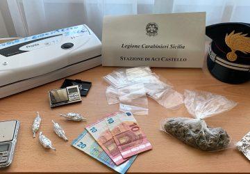 Controlli straordinari nell'Acese: un arresto ad Aci Castello, una denuncia e la chiusura di un locale