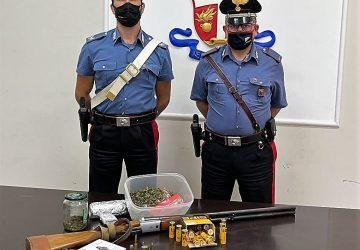 Biancavilla, nascondeva droga e munizioni in casa: denunciato