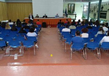"""Primo giorno di scuola all'Istituto alberghiero """"Giovanni Falcone"""" di Giarre"""
