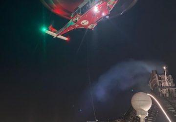 Catania, passeggero colpito da shock settico su nave crociera, soccorso da Guardia costiera