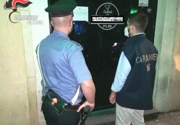 """Catania, lotta alla """"mala movida"""": controlli negli esercizi pubblici e nei luoghi di ritrovo"""