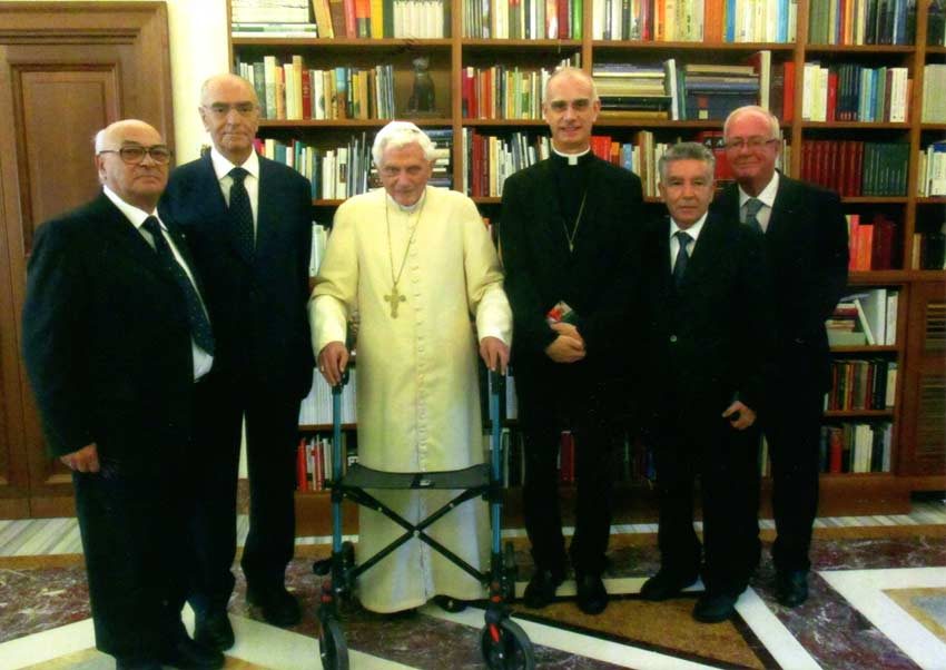 Acireale: anche il Papa emerito Benedetto XVI socio dell'Accademia degli Zelanti e dei Dafnici