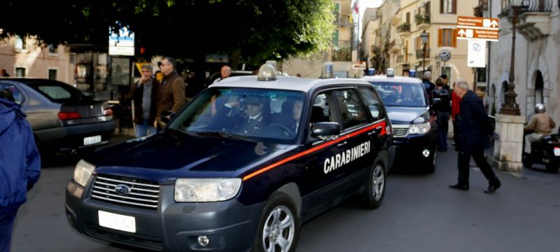 Taormina, arrestato dai carabinieri pusher del posto