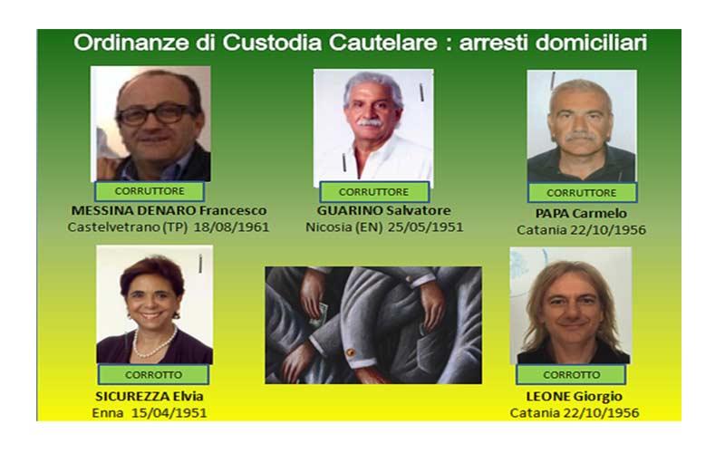 Catania, operazione Bloody Money: manette per medici e imprenditori VIDEO