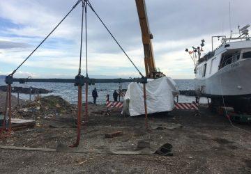 Mascali, attentato incendiario cantiere navale: indagini serrate dei Cc