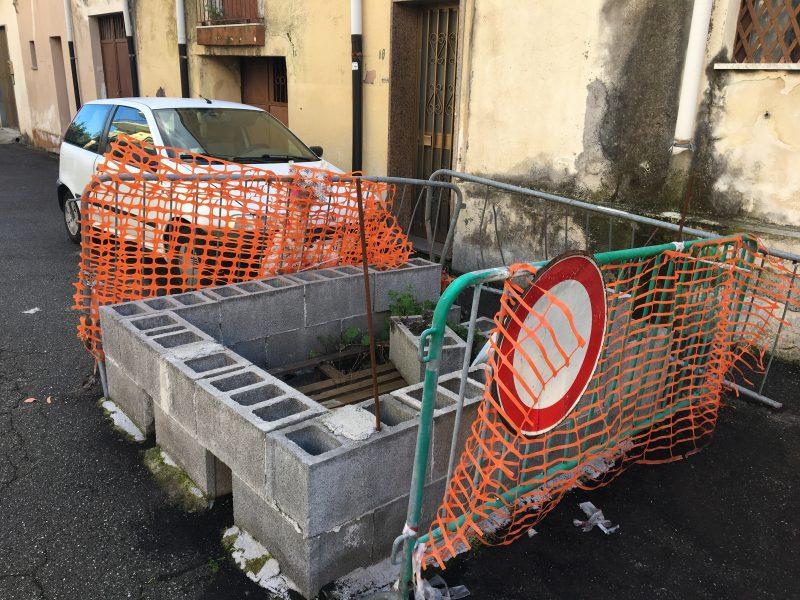 Giarre, via Ariosto a S.M. la Strada: la voragine può attendere VIDEO