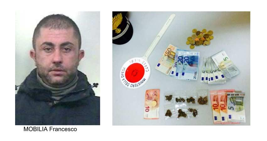 Patern arrestati tre spacciatori uno minorenne for Mobilia francavilla